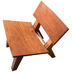 Rob Edley Welborn Prototype Lounge Chair in Spanish Cedar