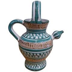 Robert Picault Ceramic Pitcher, circa 1960