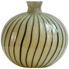 """Vase """"Zanfirico"""" by Paolo Venini"""