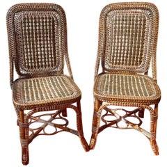 Perret & Vibert, Pair of Chairs, circa 1890