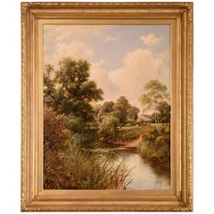 """Near Frome Somerset"" Painting by Henry Maidment"