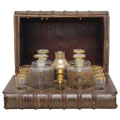 1920s Faux Book Drinks Cabinet by Finnegans of Bond Street