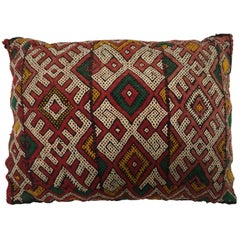 Moroccan Berber Handwoven Tribal Vintage Pillow