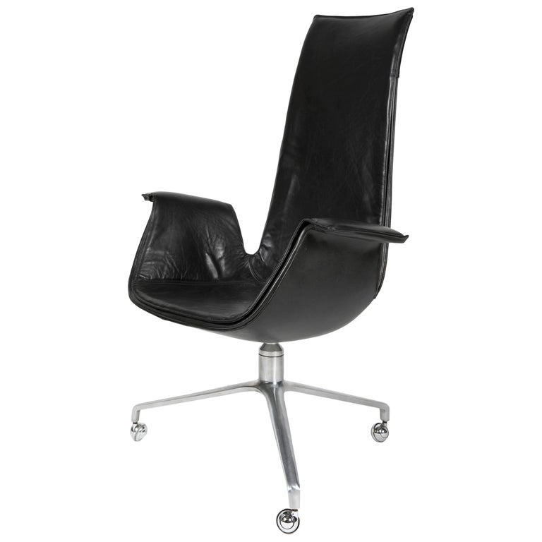 Desk 'Bird' Chair by Preben Fabricius for Alfred Kill