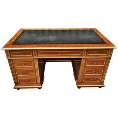 Late 19th Century Mahogany Desk, French, circa 1880