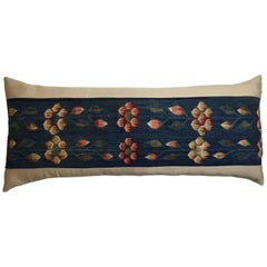 Vintage Handwoven Long Pillow