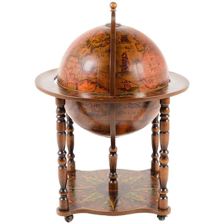 Vintage Globe Bar C 1960 For