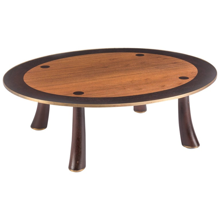 Rare Coffee Table by Edward Wormley for Dunbar For Sale