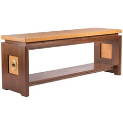Rare Paul Frankl Console Table