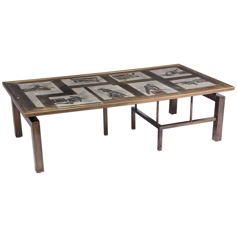"""""""Medici"""" Coffee Table by Philip and Kelvin LaVerne"""
