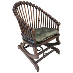Hunzinger Lollipop Platform Rocking Chair