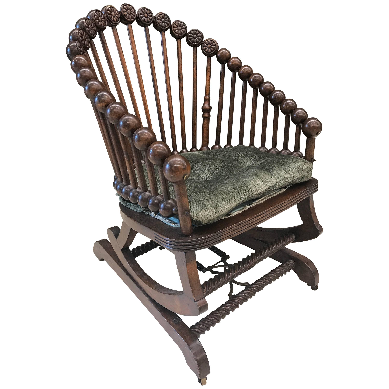 Hunzinger Lollipop Platform Rocking Chair For Sale