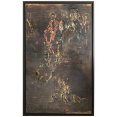 """The Last Judgement"" Painting by Walter Vilain, 1996-1997"