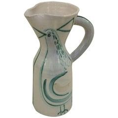 Beautiful Jacques Innocenti Ceramic Pitcher, circa 1960