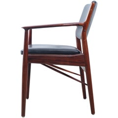 Stunning Armchair in Rosewood by Arne Vodder