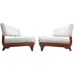 Pair of Daybed Sofas by Richard Stein for Knoll