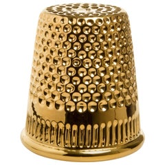 InDito Gold Vase by Vito Nesta, Made in Italy