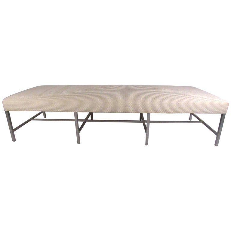 Oversize vintage modern bench or daybed for sale at 1stdibs Daybed bench