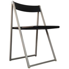 Folding Chair, Designed in 1971 by Team Form AG, Manufactured by Interlübke