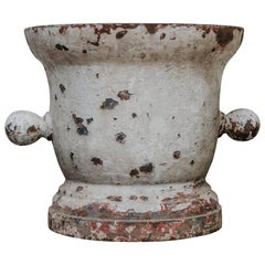 18th Century Cast Iron Mortar