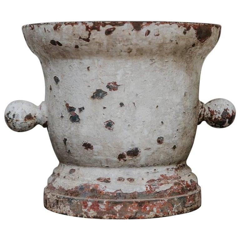 18th Century Cast Iron Mortar
