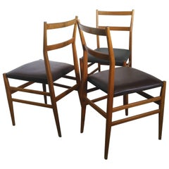 "Three ""Leggera 646"" Chairs by Gio Ponti for Cassina, 1951"