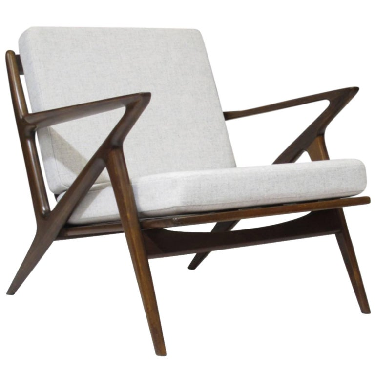 Poul jensen for selig 39 z 39 lounge chair for sale at 1stdibs - Selig z chair for sale ...