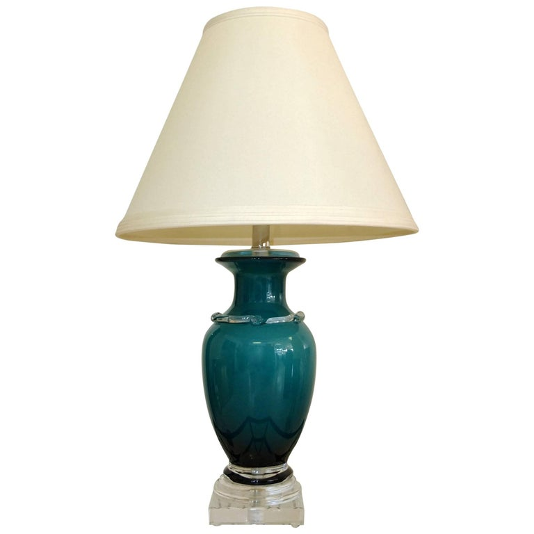 Frederick Cooper Glass Table Lamp 1