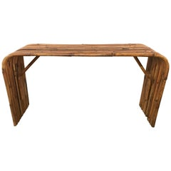 "Gabriella Crespi ""Rising Sun"" Console Table"