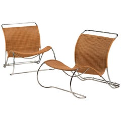 Boex Bo 961 Lounge Chair by Jorgen Lund and Ole Larsen