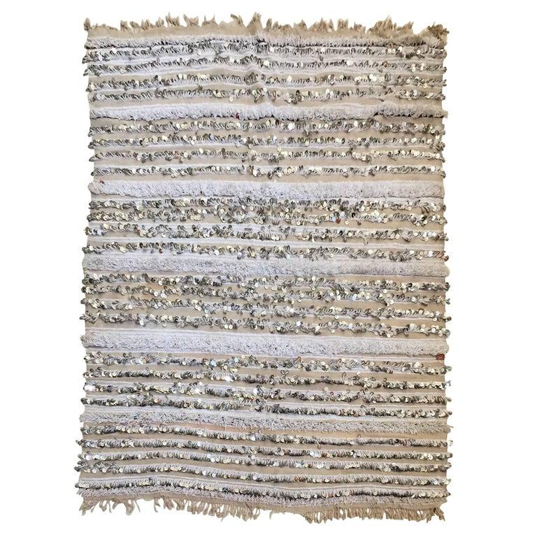Moroccan Wedding Blanket with Sequins