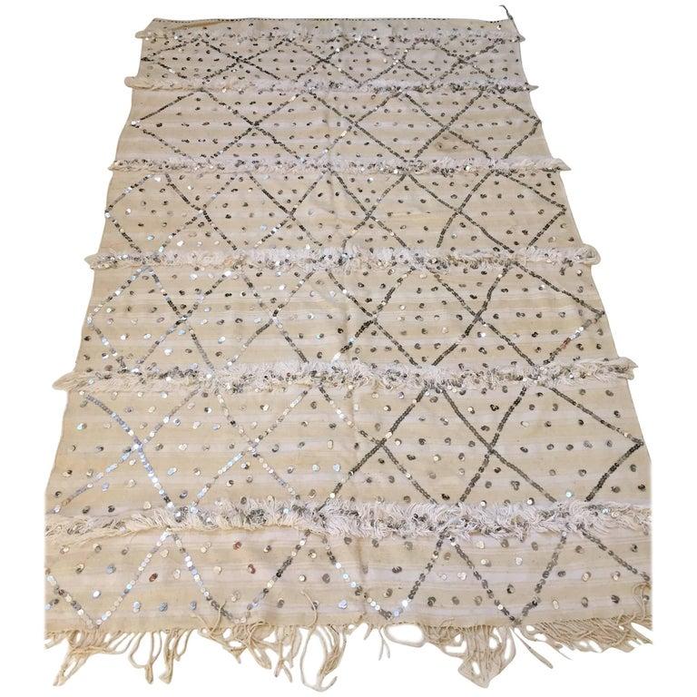 Moroccan Wedding Berber Blanket