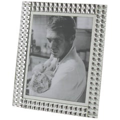 Mid-Century Modern French Mirror Picture Photo Frame, circa 1950s
