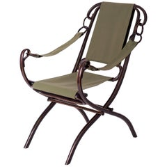 Folding Armchair Number 2 from Thonet, 1885