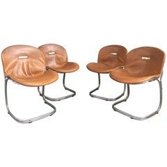 Four Chairs Sabrina by Gastone Rinaldi