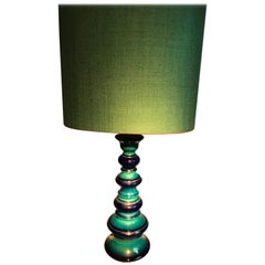 Kaiser Lamp and Oval Shade