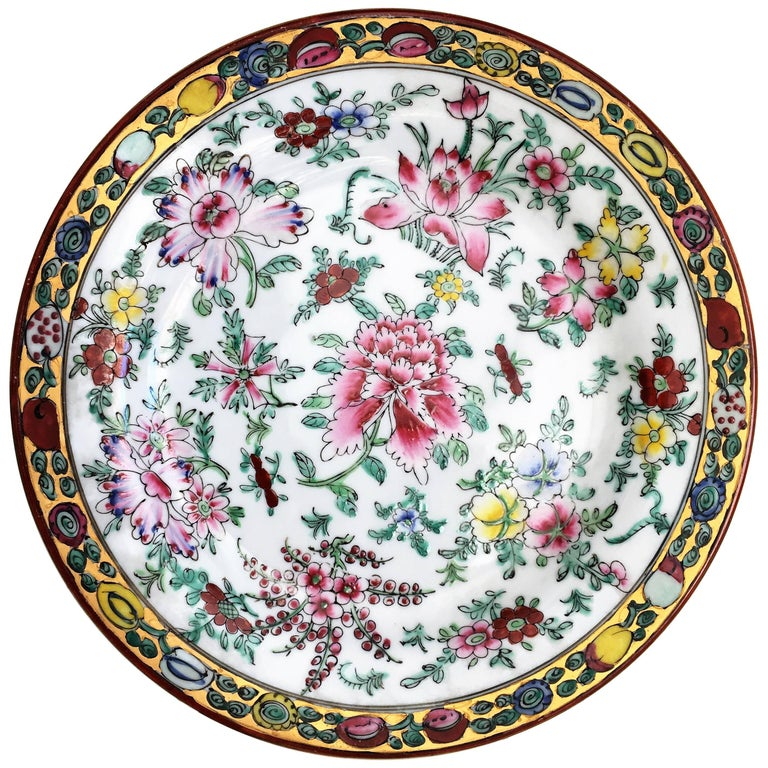 20th Chinese Export Platter