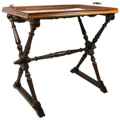 Unique Tray Table Baroque Revival, Austria, circa 1870
