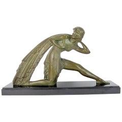 Large Bronze Art Deco Sculpture by Demetre Chiparus, circa 1925