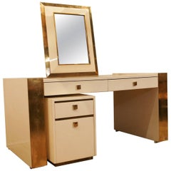 Mahé Jean-Claude, 1970 Desk and Mirror