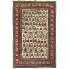 Antique Zeychour Caucasian Rug