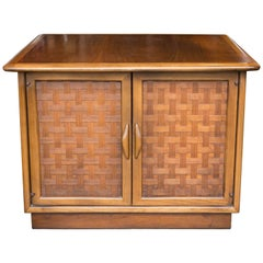 Lane Perception Two-Door Side Table