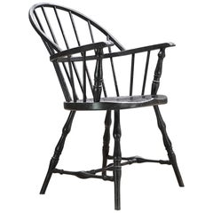 Rare Bankers Vault Metal Fireproof Windsor Armchair by Simmons