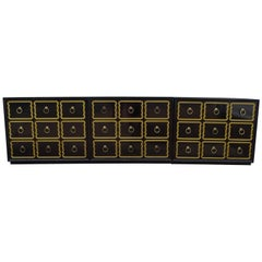 Dorothy Draper Espana Bunching Chests Set of 3