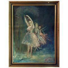 The Grand Ballet by W.L. Kennedy, Oil on Canvas