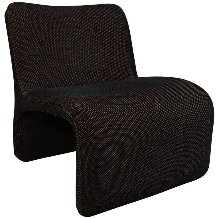 Side Chair with a Modern Profile  1