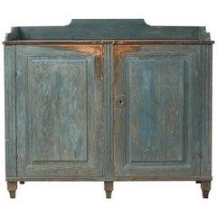 18th Century Gustavian Sideboard Dry Scraped to Original Paint