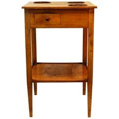 French Rafraichissoir Table in Fruitwood, circa 1820