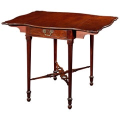 18th Century Chippendale Style Pembroke Table