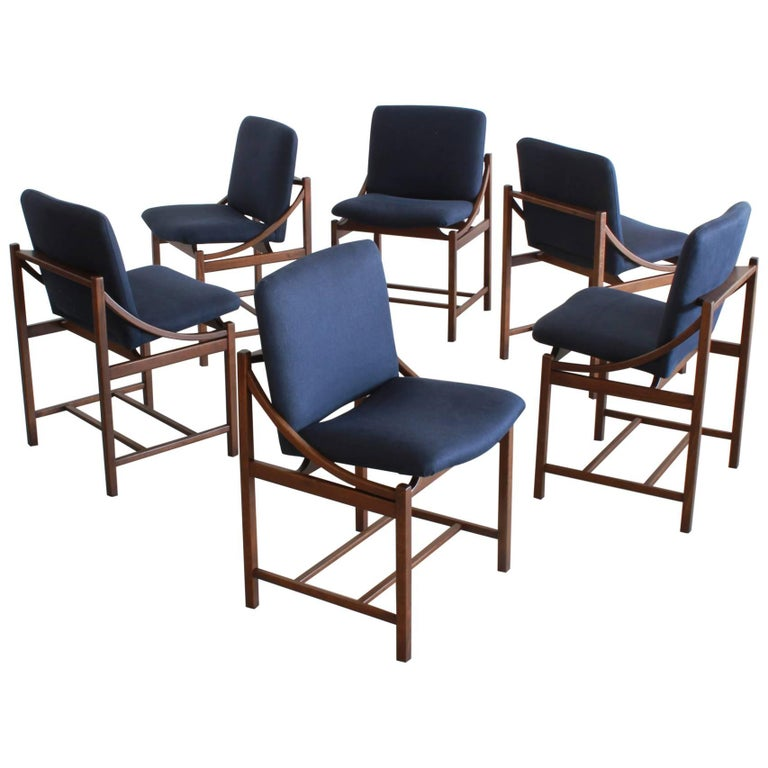 Italian Bentwood Dining Chairs  For Sale